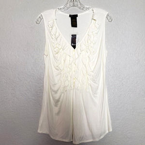 NEW! Grace Elements Sleeveless V Neck M